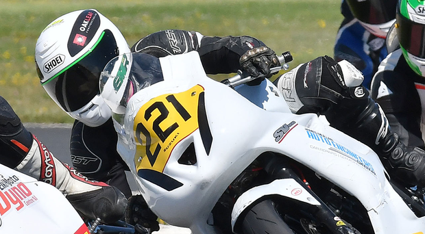 Revved up: Eunan McGlinchey is set for National Superstock bid
