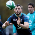 Big loss: Ireland ace Robbie Henshaw is still on the sidelines