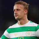Time out: Leigh Griffiths will stay away from football for a while, with the support of manager Brendan Rodgers