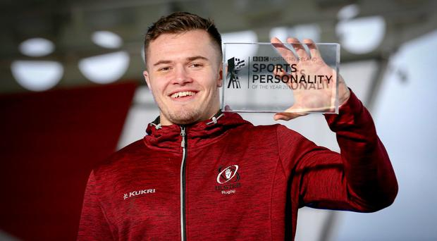 Stunning year: Jacob Stockdale is the 2018 BBC Northern Ireland Sports Personality of The Year