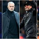 Mauricio Pochettino, Jose Mourinho, Jurgen Klopp and Pep Guardiola will lead their sides into the last 16.
