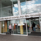 The child was taken to the Royal Belfast Hospital for Sick Children