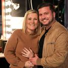 John Drennan and Daniella Anthony were reunited with the police officers who found their lost wedding ring on US TV (Michael Rozman/Warner Bros/PA)