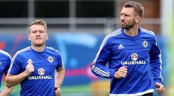 Steven Davis and Gareth McAuley could soon be playing their club football together.