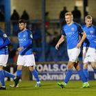 Andrew Mitchell netted twice as Glenavon eased past Coleraine at Mourneview Park.