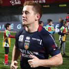 Paddy Jackson, who scored a penalty for French club Perpignan against Connacht last night