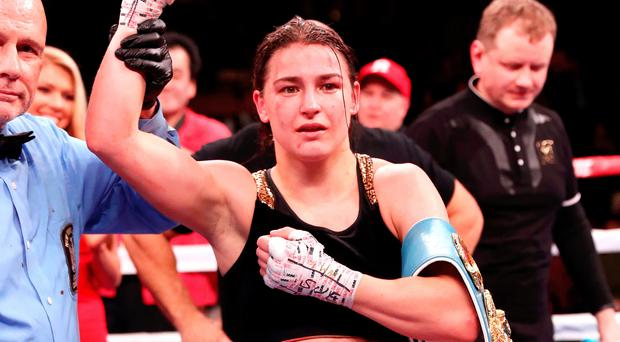 Katie Taylor Dominates Eva Wahlstrom, Retains World Titles