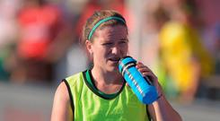 Double up: A Shield final place and Irish award delighted Shirley McCay