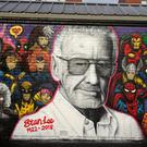 A mural of Marvel Comics co-creator Stan Lee (Andrew Milligan/PA)