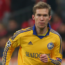 Familiar face: Alex Hleb is still with BATE Borisov aged 37