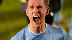 Looking up: Johnny Addis insists Ballymena United aren't looking back in their hunt for glory
