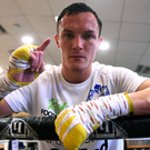 Number one: Josh Warrington is keen to retain his world title