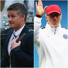 Ole Gunnar Solskjaer and Lauren Blanc are among the front-runners to become Manchester United's next manager.