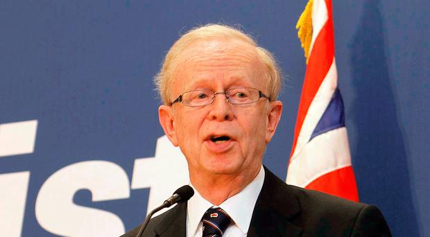 Ulster Unionist Lord Reg Empey