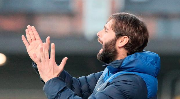 Seventh heaven: Gary Hamilton is making waves as Glenavon manager
