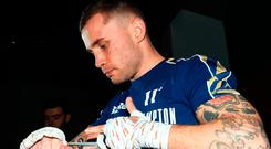 Crunch time: Carl Frampton is ready to do battle with Josh Warrington