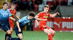 Busy diary: Chris Curran admits the next run of games could be crucial for Cliftonville