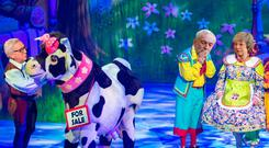 'The main difficulty in trying to write about non-political pantomime is in trying to predict some of the havoc that could be wreaked - and plot changes that would be entailed - in the event of a no-deal Brexit'