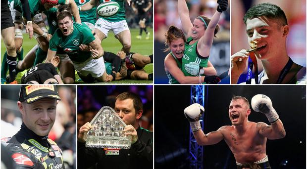 Among our contenders for top Northern Ireland sporting moment of 2018 are Jacob Stockdale's try against New Zealand, Ireland women's hockey team's run to the World Cup final, Rhys McClenaghan's pommel horse golds, Jonathan Rea's world title, Mark Allen's Masters win and Carl Frampton's Windsor wonderland.