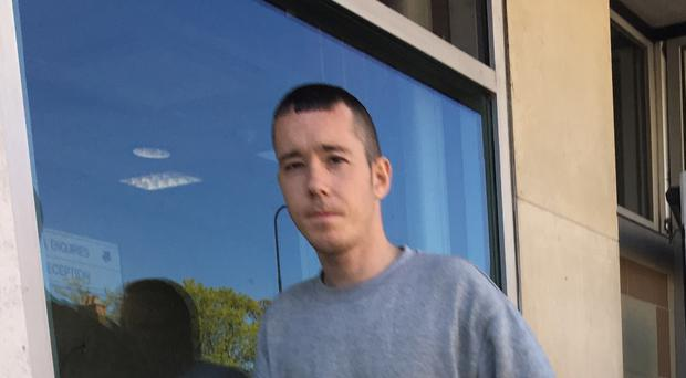 Keith Crooks (29) appeared at Newtownards Magistrates Court on Monday