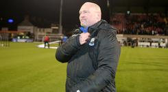 Wise head: David Jeffrey has a wealth of experience when it comes to derby games