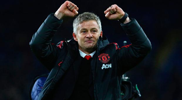 Happy times: Ole Gunnar Solskjaer aims for another good performance