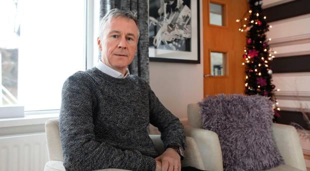 Father's grief: Peter Dolan, whose son Enda was killed by a driver on Belfast's Malone Road