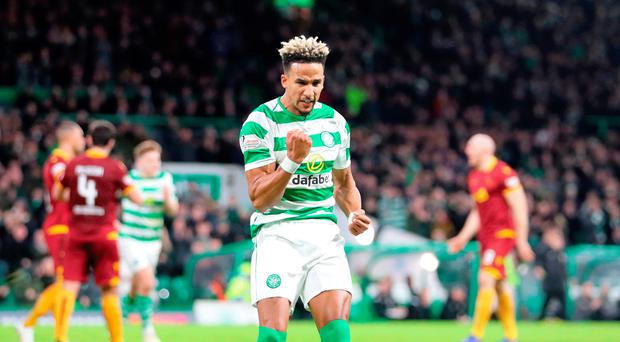 Rodgers hails hat-trick hero Sinclair after frantic Dons finale