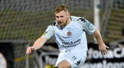 Pick it out: David Cushley fires Crusaders into a 3-0 lead at Solitude