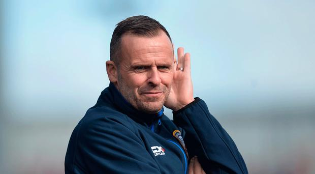 On track: Rodney McAree says Coleraine are back in groove