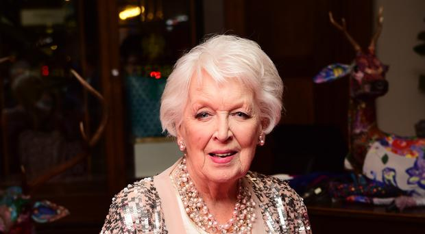 June Whitfield attending the Absolutely Fabulous The Movie After Party held at Liberty Department Store in London. (Ian West/PA)