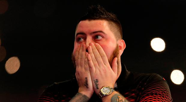 Final chapter: Michael Smith reacts to his win last night