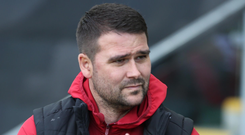 Sights set: David Healy (pictured) is targeting an overdue win against Ards, whose boss Colin Nixon is relishing an upset
