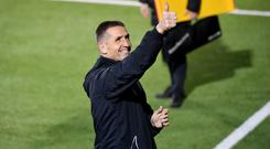 Positive mood: Stephen Baxter is looking forward to welcoming new additions to his title-chasing panel