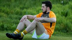 Looking up: Ryan Murray sees promotion from Division Four of the Allianz League as essential if Antrim are to regain lost pride
