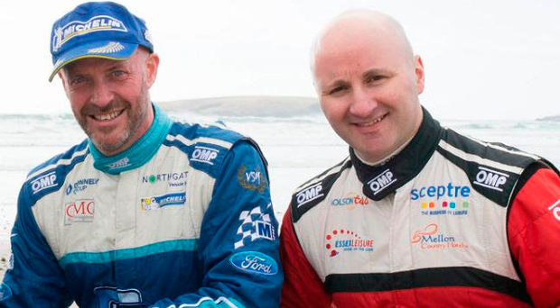 Making a change: Donagh Kelly and Declan Boyle will run R5 cars in both the Tarmac and National Championships