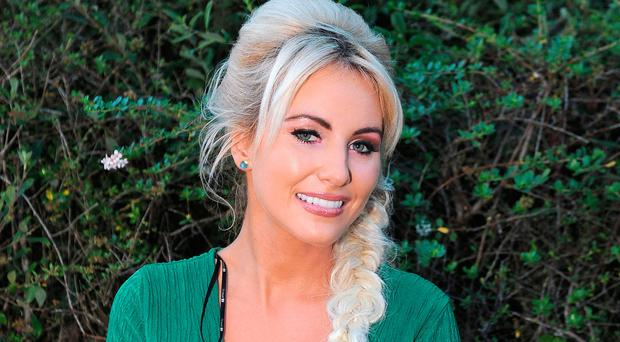 Stepping out: Cliona Hagan is taking a break from her country singing career to take part in RTE's Dancing With The Stars