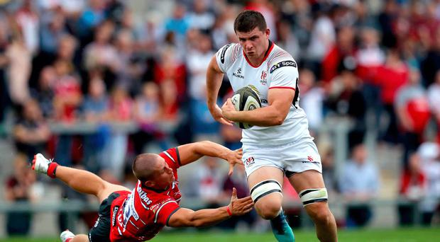 Homecoming: Nick Timoney has fond memories of playing at the RDS Arena