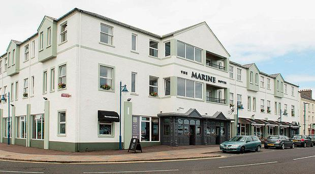 The Marine Hotel in Ballycastle