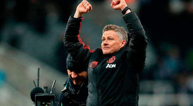 All good: Ole Gunnar Solskjaer is happy with his United squad