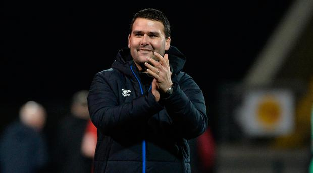 Shuffling deck: David Healy is set to make changes to his Linfield line-up