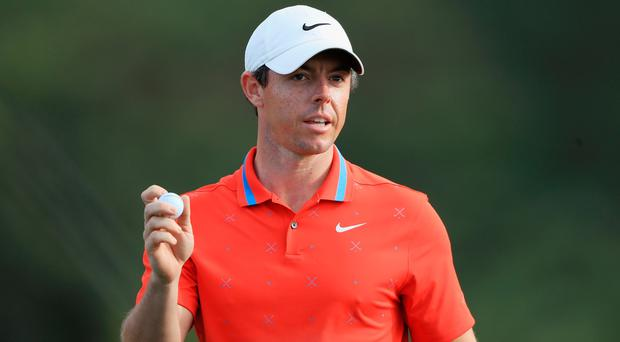 Rory McIlroy is in contention in Hawaii.