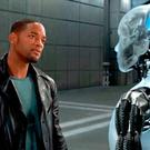 Face the future: Will Smith meets an android in the film I, Robot