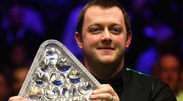 Prize guy: Mark Allen is on a mission to defend his Masters title