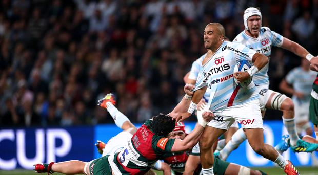 Star quality: Simon Zebo has proved a shrewd signing by Racing