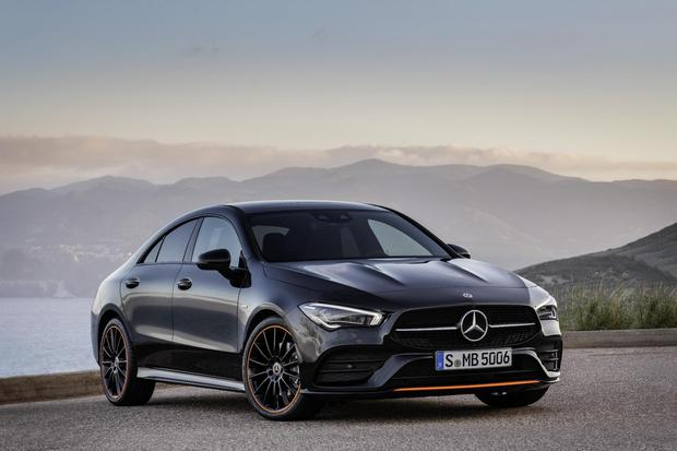 Sleek new Mercedes CLA coupe wows crowds at CES gadget show with hi
