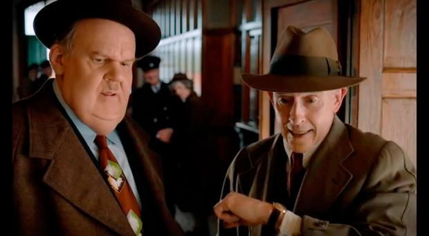 Comedy legends: John C Reilly and Steve Coogan in Stan & Ollie