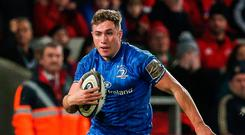Winging it: Jordan Larmour is eager to continue shining