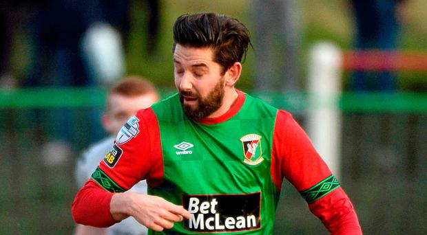 Staying put: Curtis Allen says he won't be leaving the Glens