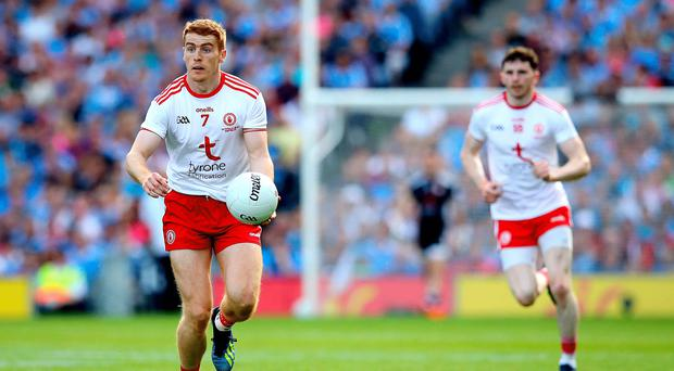 Class act: Peter Harte's experience, vision and accuracy proved too much for Derry in yesterday's Dr McKenna Cup